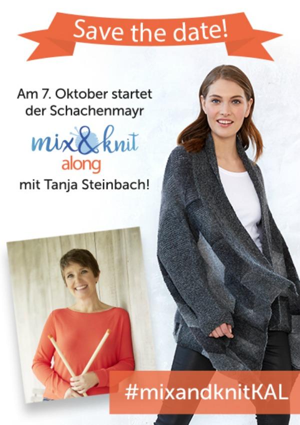 mix&knit along mit Tanja Steinbach