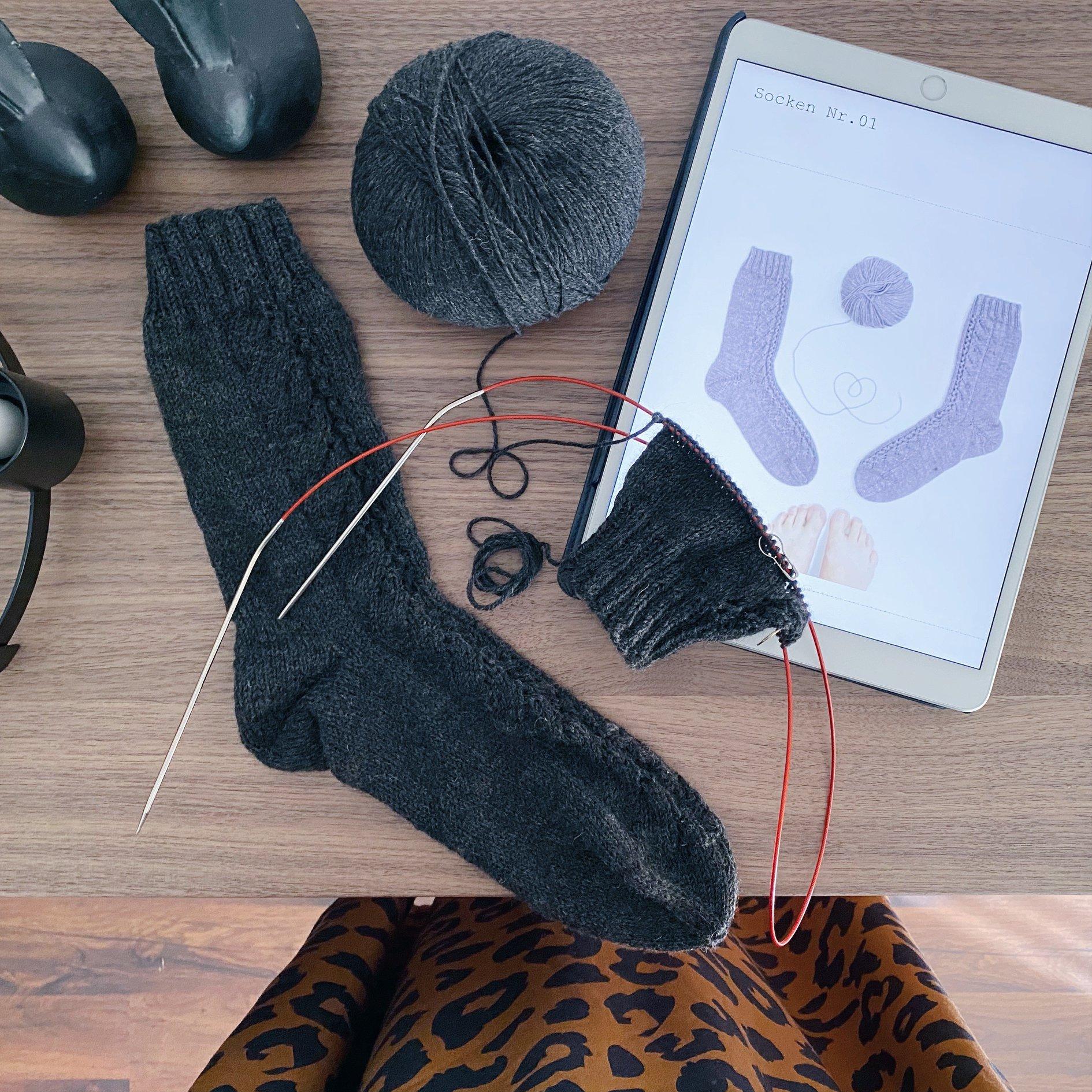 Rosa P. - Socken No. 1