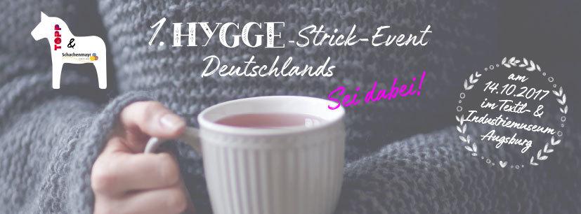 Deutschlands 1. Hygge-Strick-Event von Schachenmayr und dem frechverlag