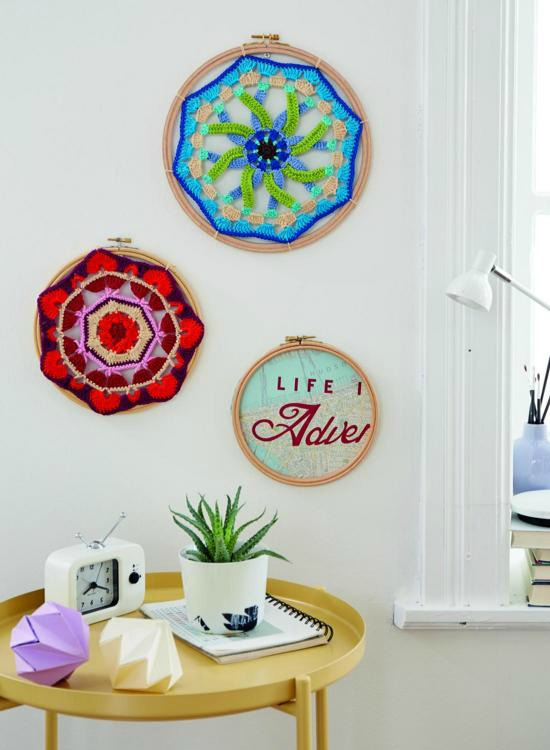 Mandalas are a great home deco