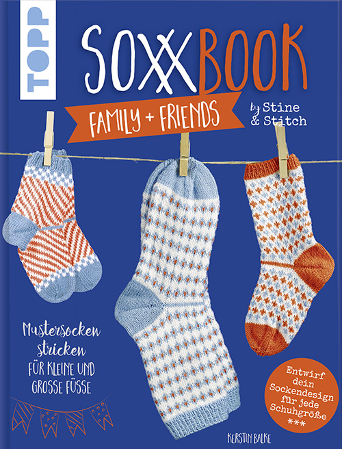 Soxx Book Family & Friends Cover Kerstin Balke