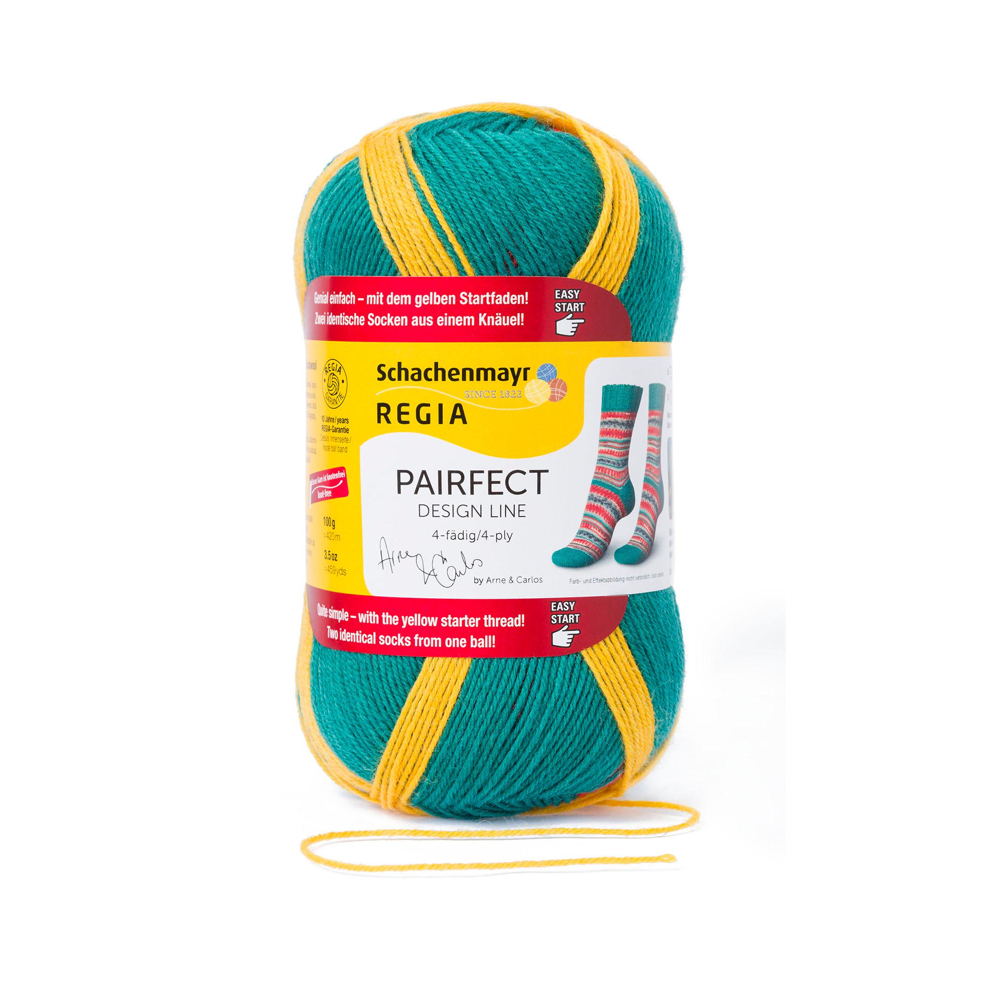 Regia 4ply Design Line by Arne /& Carlos 100g Sock Knitting Yarn