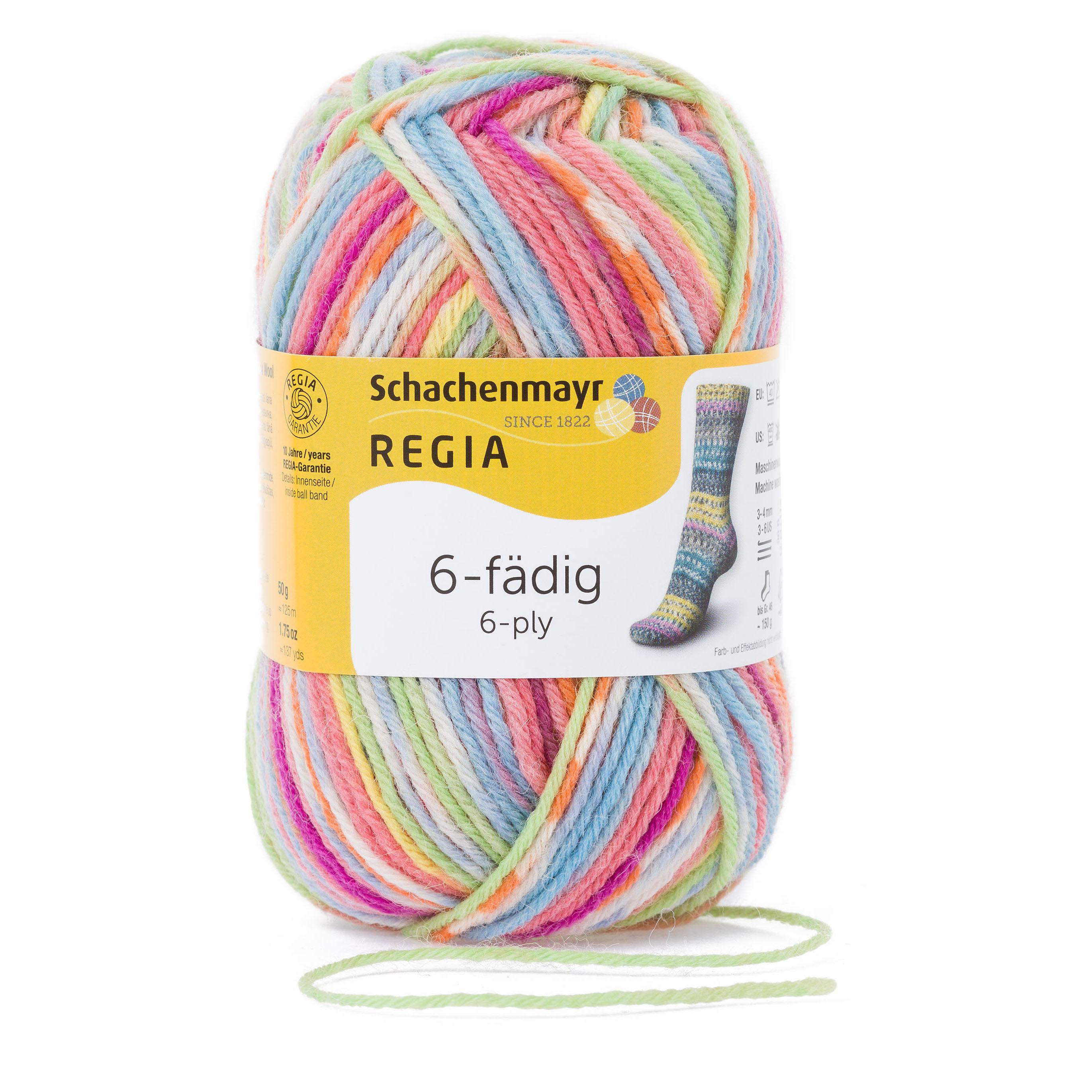 dff7de9622c REGIA 6-ply Color 50g | Schachenmayr