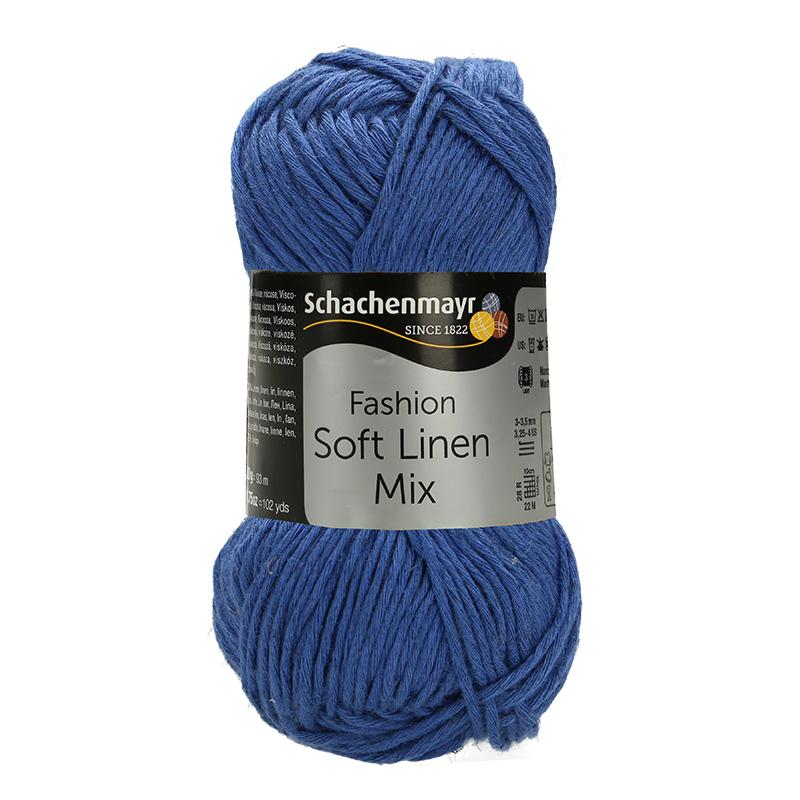 Pantone Farbe 2020 - Schachenmayr Soft Linen Mix - #00054 royal