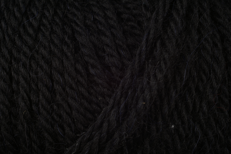 Włóczka Schachenmayr Alpaca Classico kolor schwarz nr kat.  00099