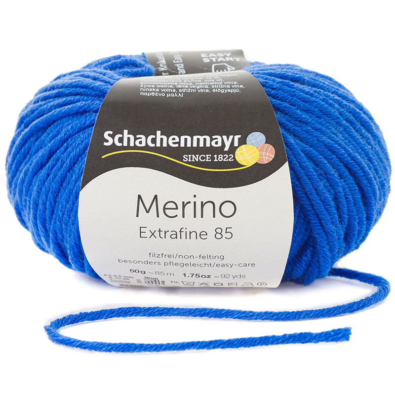Pantone Farbe 2020 - Schachenmayr Merino Extrafine 85 #00251 royal