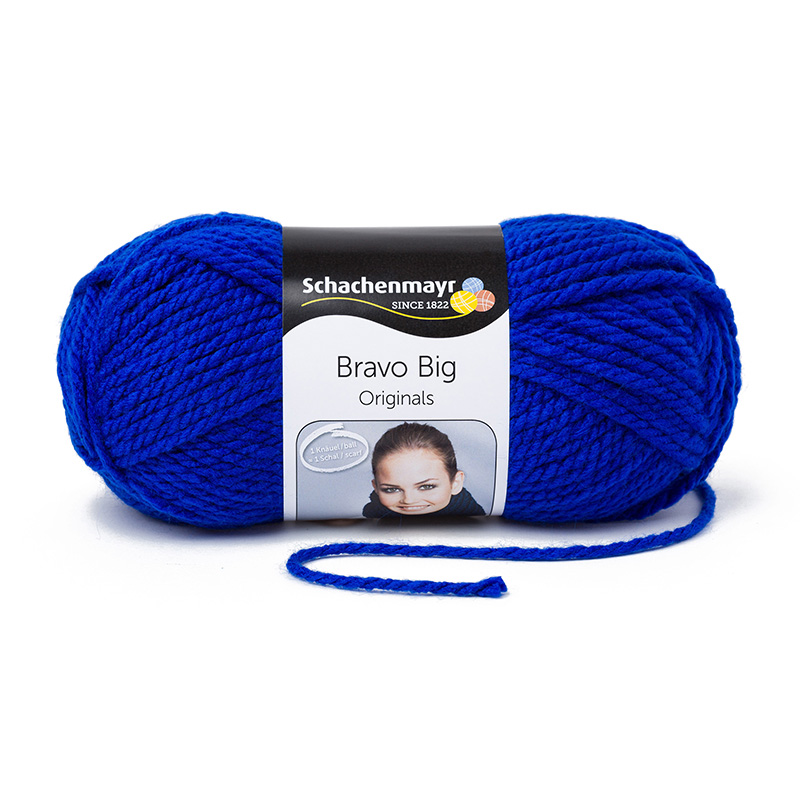 Pantone Farbe 2020 - Schachenmayr Bravo Big #00154 royal