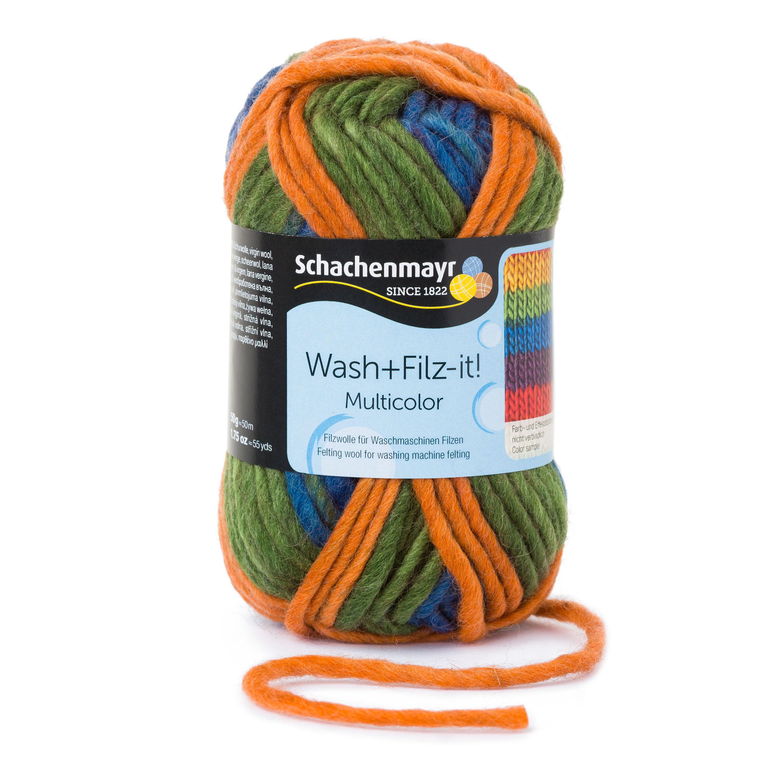wash filz it multicolor stricken h keln wolle. Black Bedroom Furniture Sets. Home Design Ideas