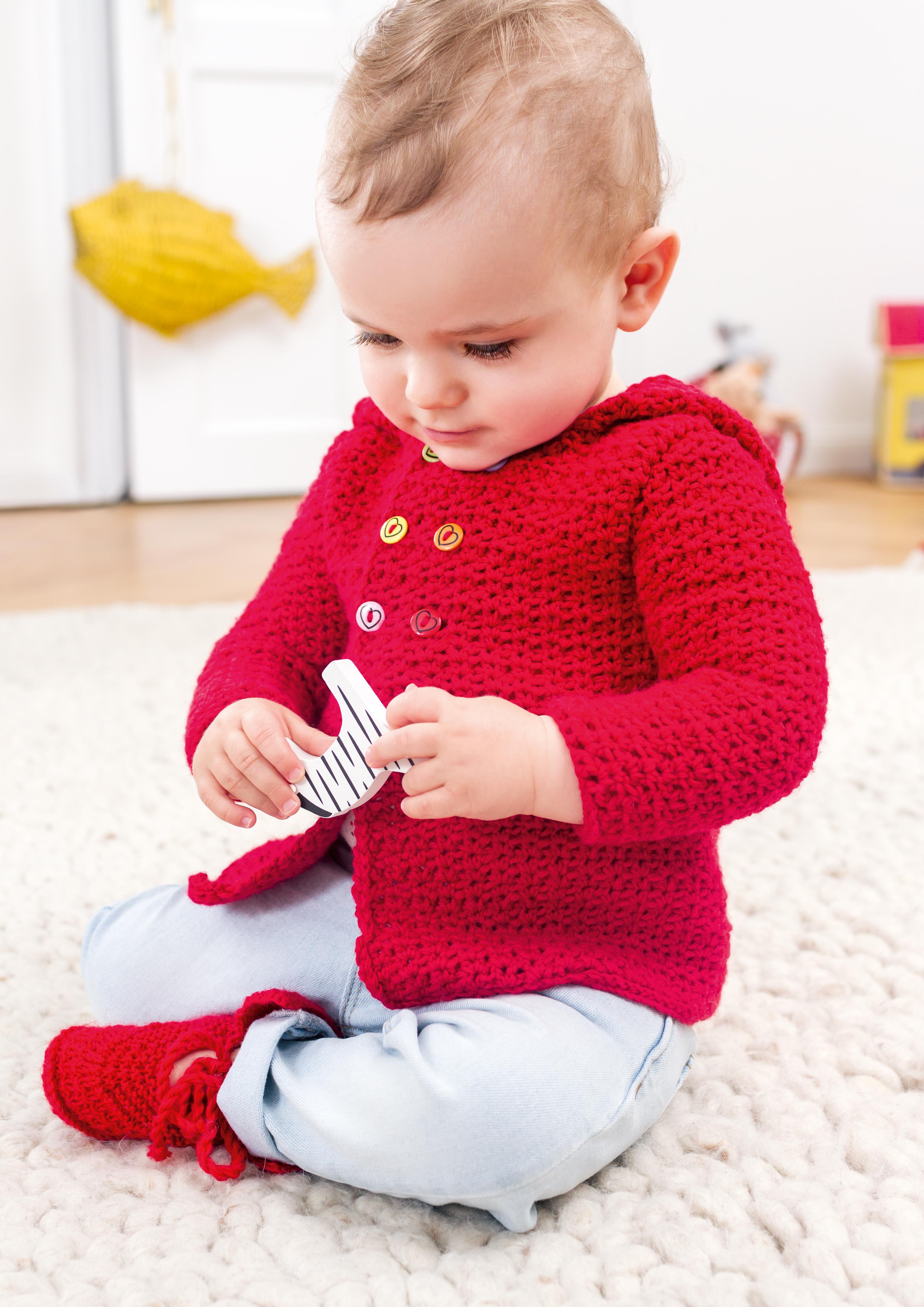 Crocheted Jacket, S9417 | Schachenmayr