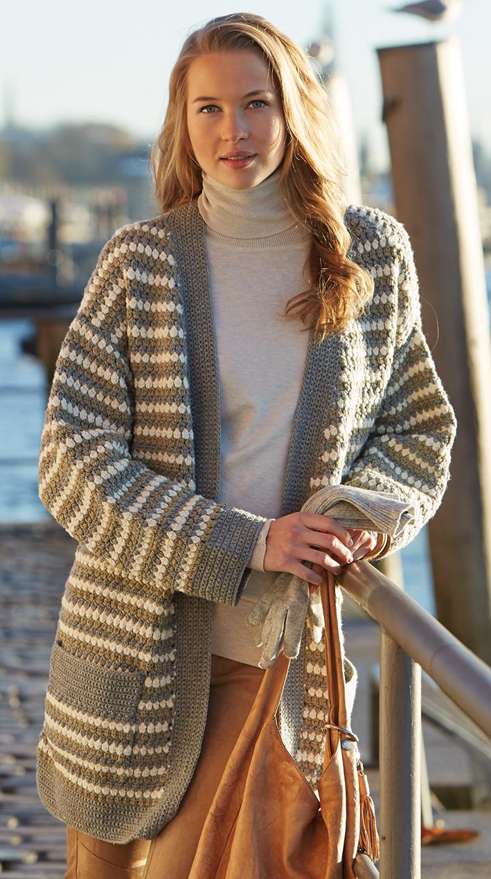 Crochet Jacket, S9728 | Schachenmayr