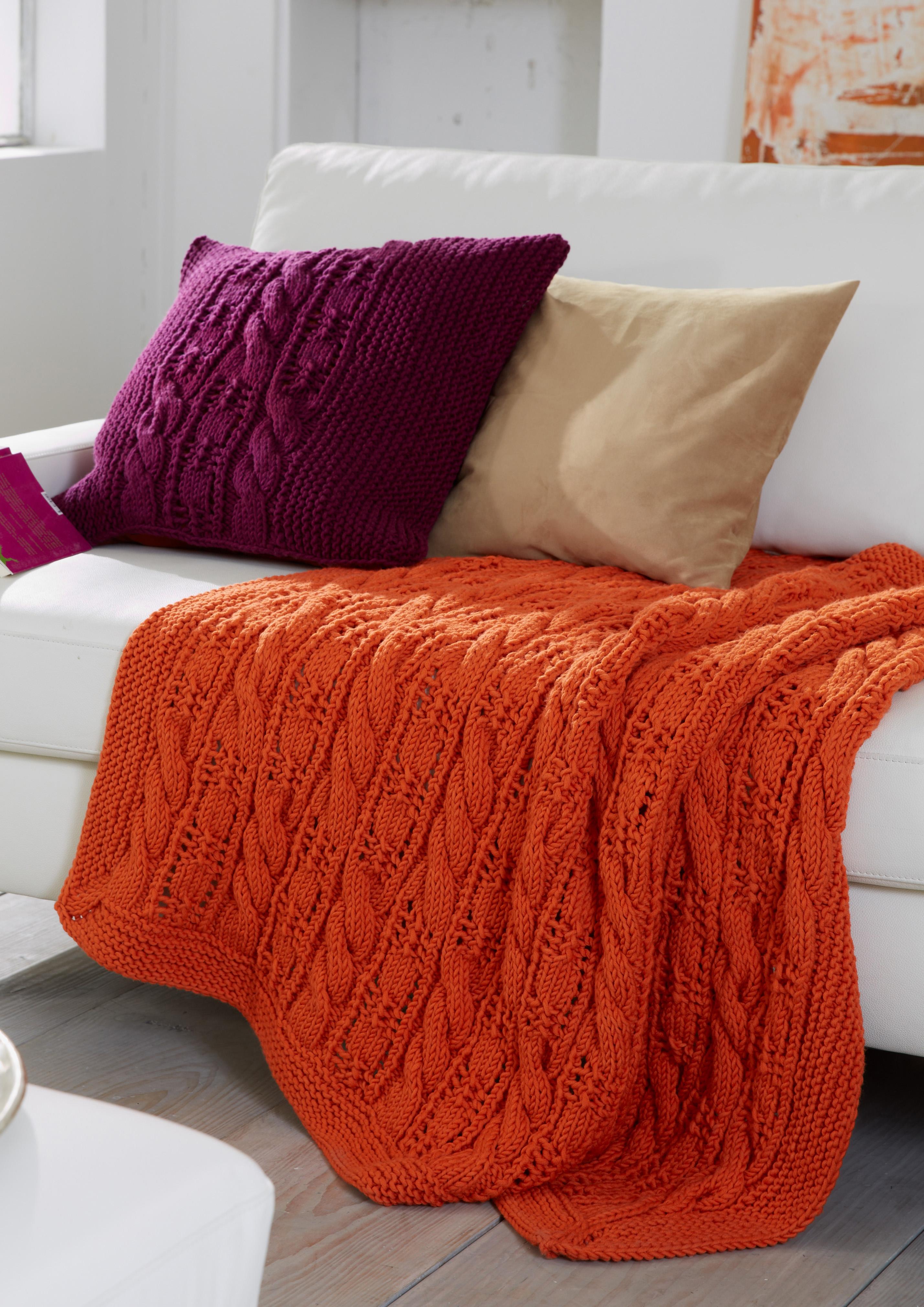 plaid und kissen s9033 schachenmayr. Black Bedroom Furniture Sets. Home Design Ideas