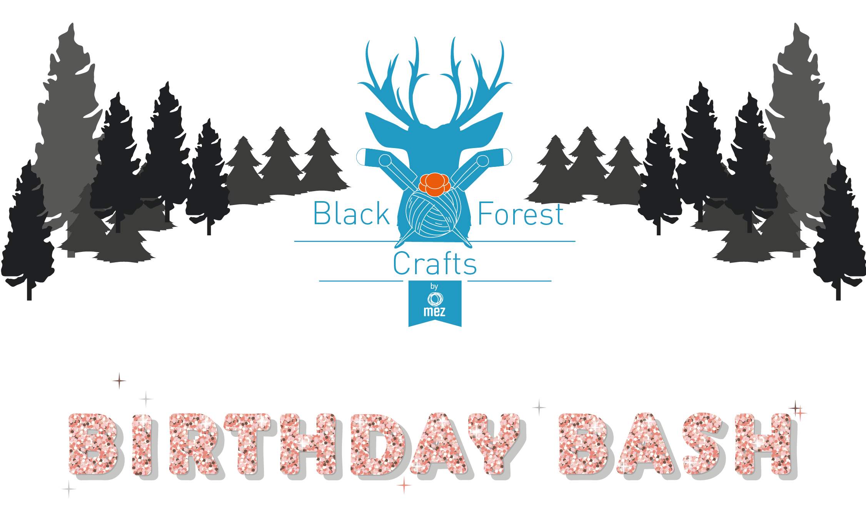#blackforestcrafts - Bloggerevent Vol. II - Birthday Bash