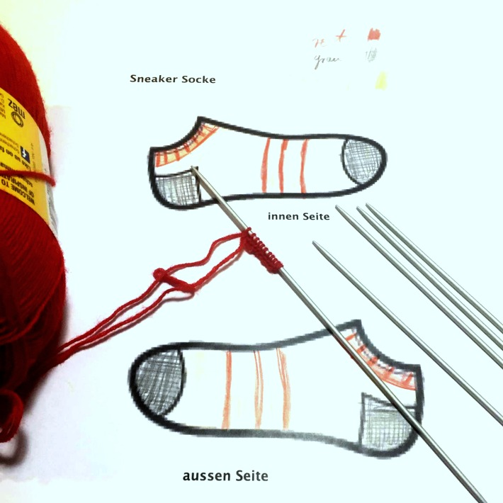 New project by Dieter Fieber: Sneaker-Socks