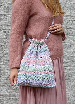 Fanny mit #cataniasummerstripes Tasche in 4 Pastellfarben