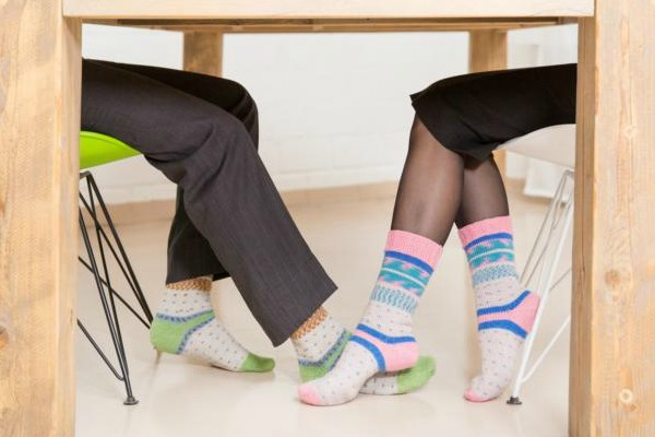 Pairfectly matching socks with REGIA PAirfect by ARNE & CARLOS