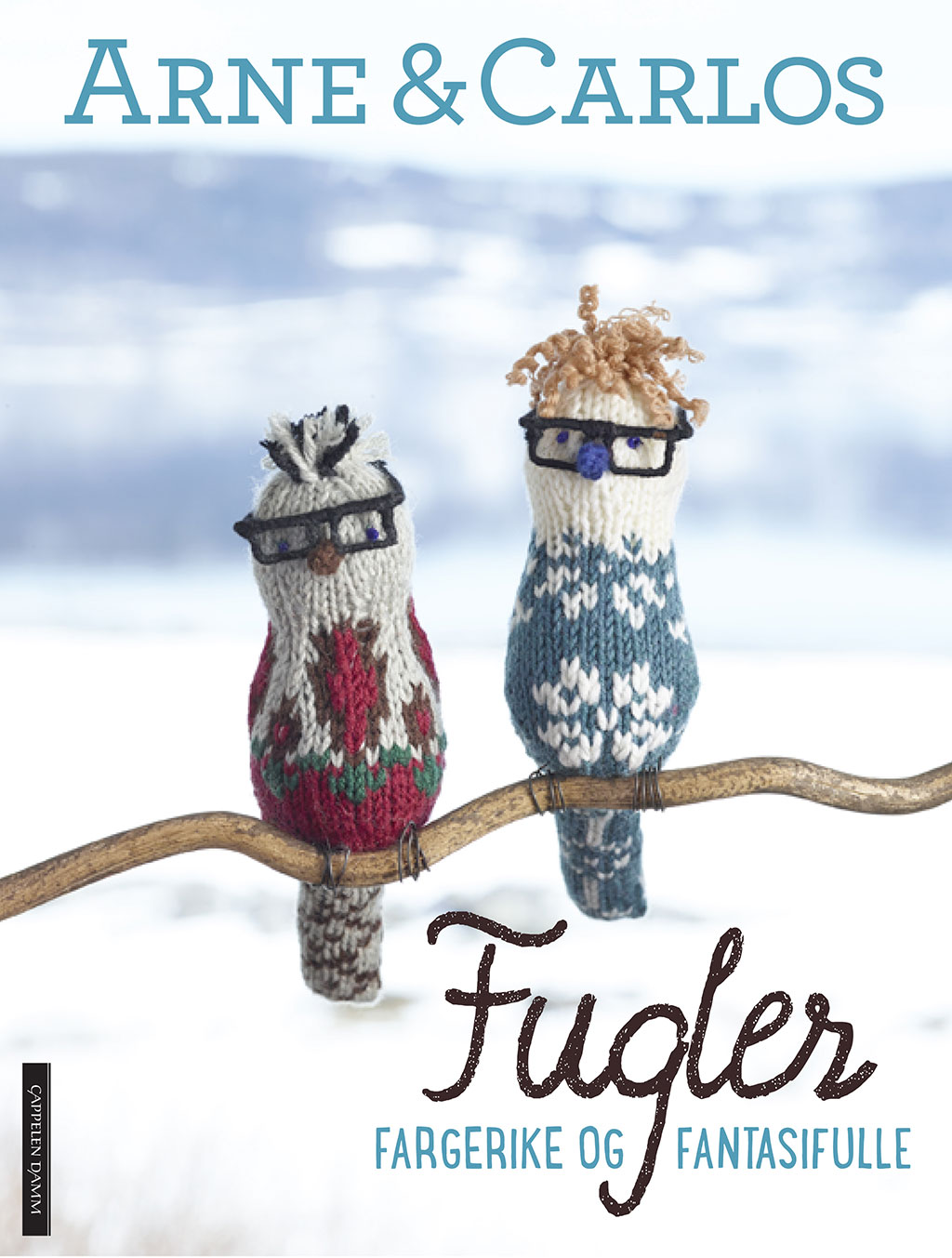 New book by ARNE & CARLOS: a fieldguide to knitted birds
