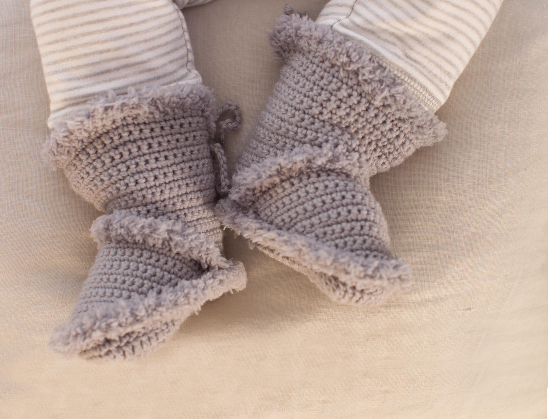 Baby Booties, S9081 | Schachenmayr