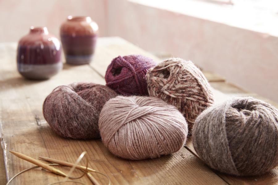 Soft yarn for a hyggely feeling