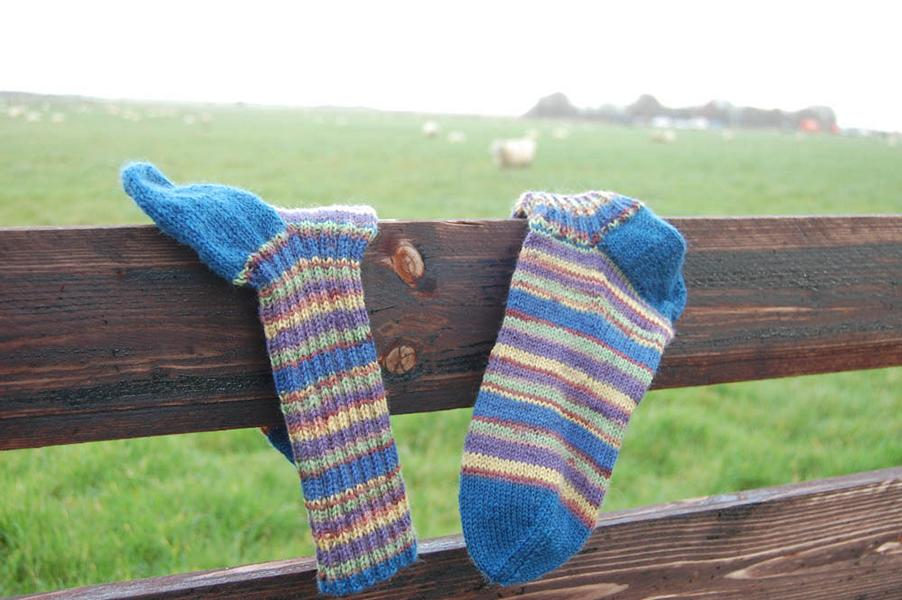7 Steps to sock knitting