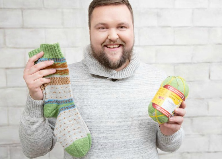 Knit pairfect Sock with Lutz