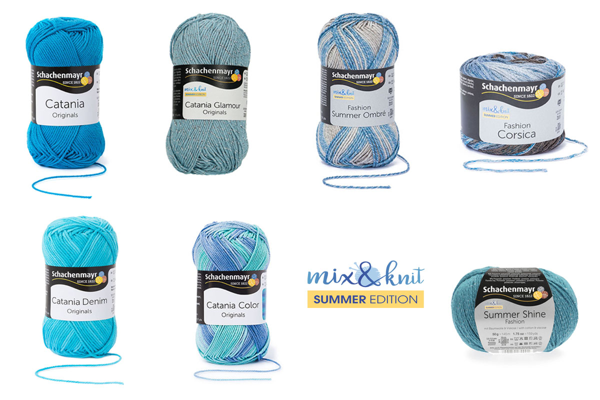 mix&knit summer edition