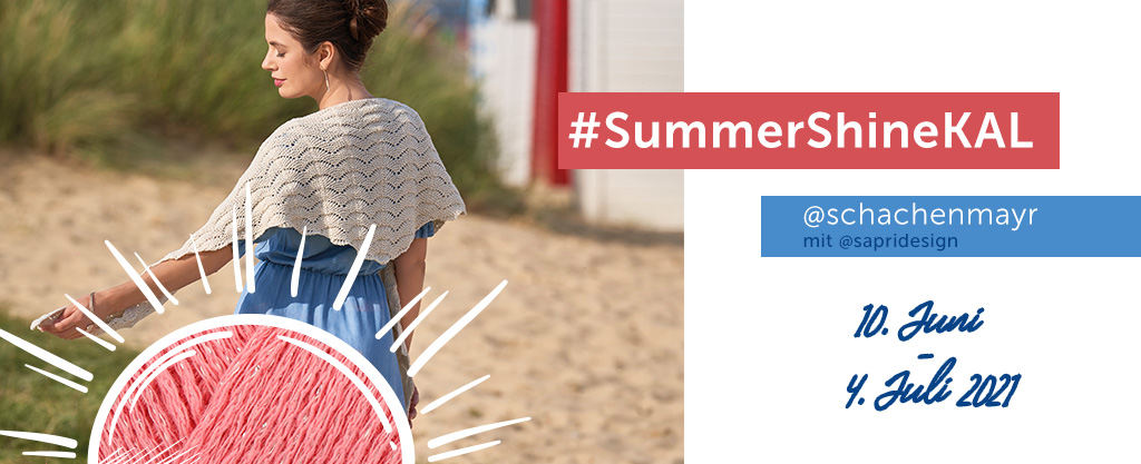 Summer Shine Knit Along mit Tuch Joline