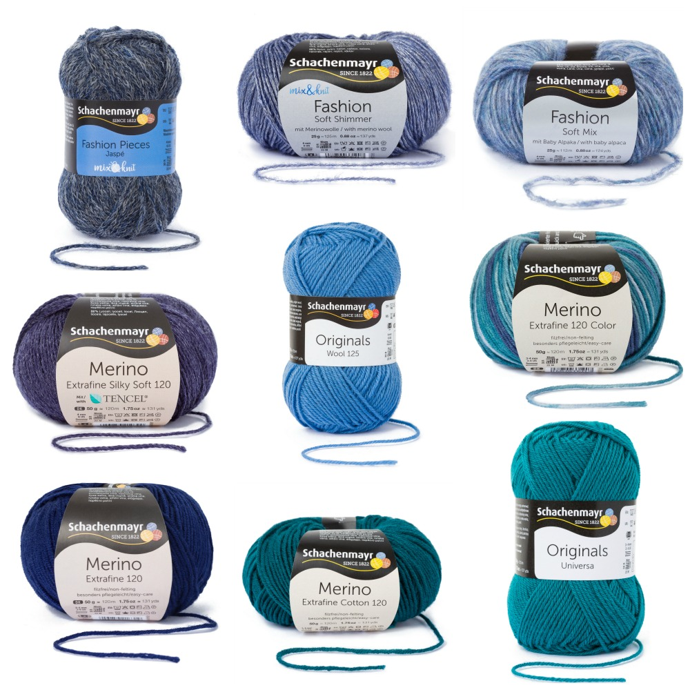 The mix&knit yarns