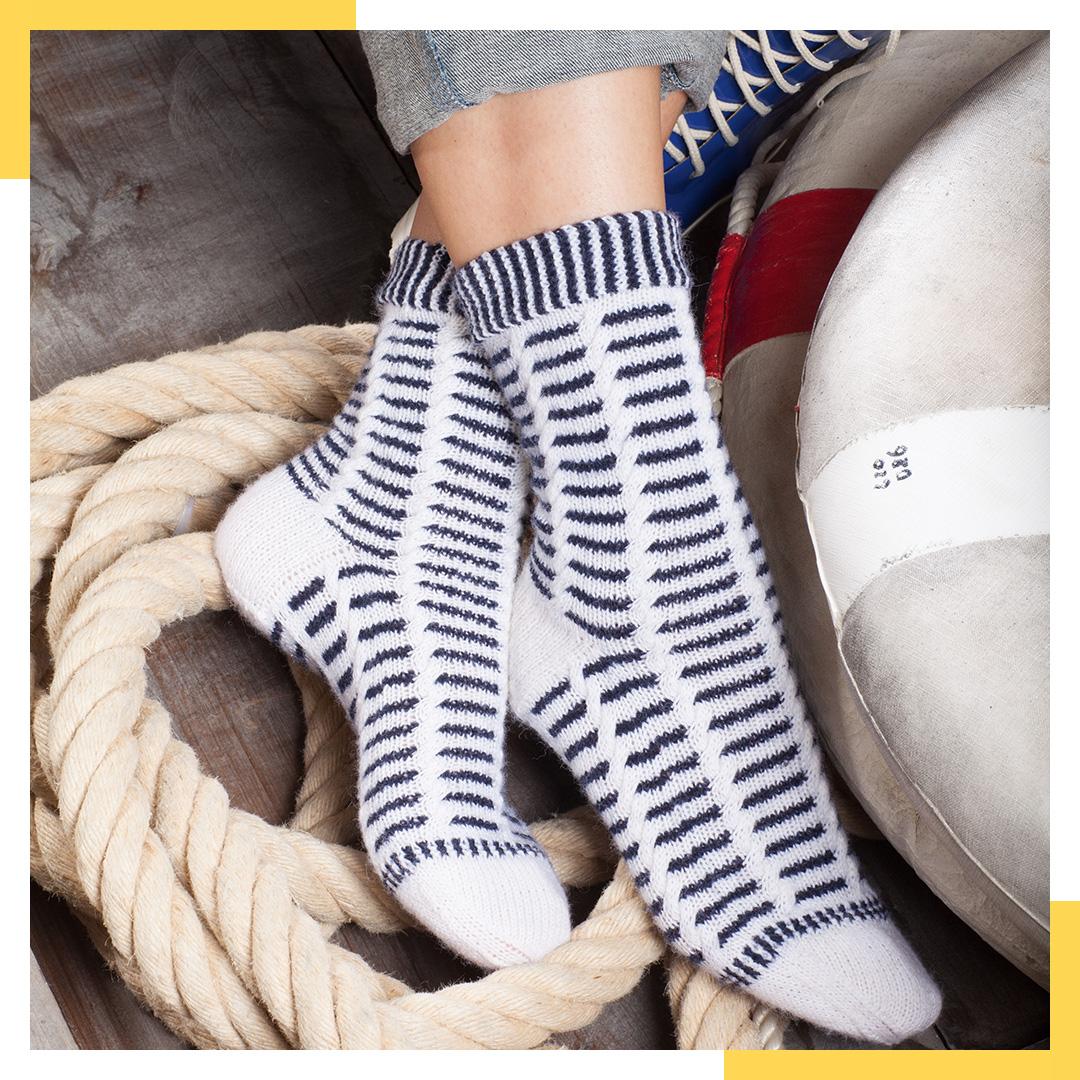 Stephanie van der Linden - Elbe Socken