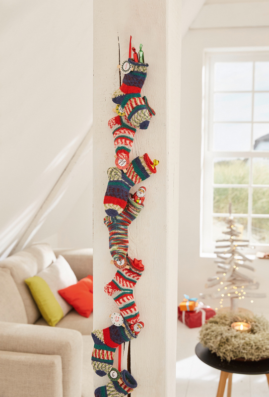 Ankle socks advent calendar - sweet and beautiful