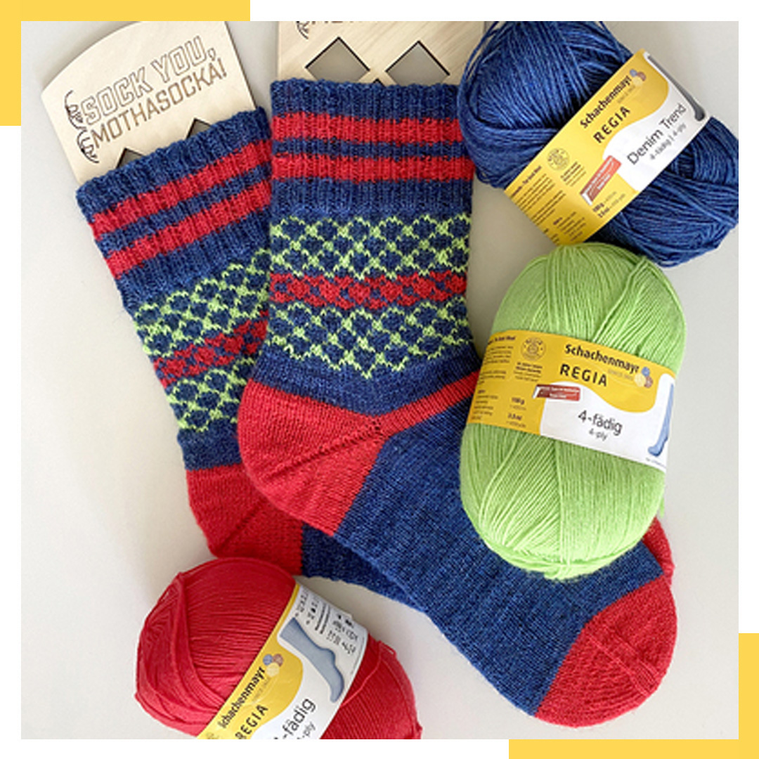 Mr. Knitbear - Bear River Socks