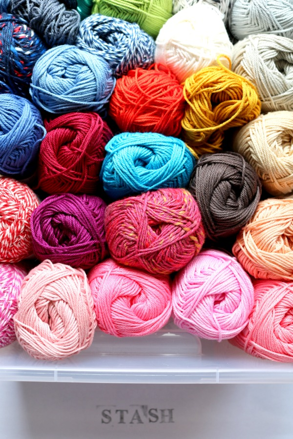 Stash - the yarn you own