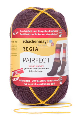 REGIA Pairfect Knäuel der Edition 1 in Farbe 07111 cinamon color
