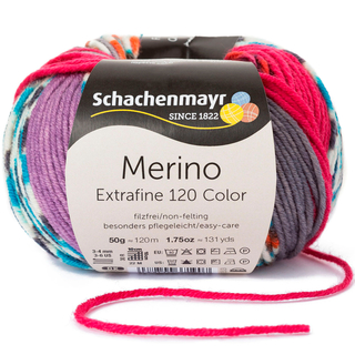 50 gr,Farbton kann var. Farbnummer 590 Schachenmayr,Merino Extrafine 285 Lace